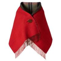 Vivienne Westwood [Vivienne Westwood] Reversible Wool Stole 2404138253-33-00 Red (POP 1166929027)