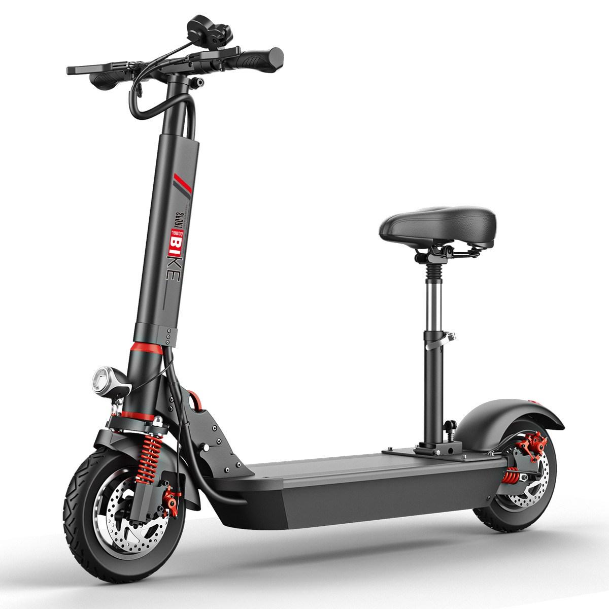 - 가성비 접이식 전동 킥보드 전기킥보드 스쿠터 전기자전거 출퇴근용 레저용 업무용(관부과세포함가격), 36V 8AH