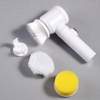 무선 욕실청소기 자동 스핀 회전 전동 청소기 G5, 짧은 손잡이 전기 브러시 (TOP 5553650037)