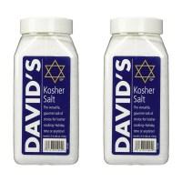 David's Kosher Salt 데이비드 코셔 솔트 40Oz(1120g) 2팩 (TOP 4343835096)