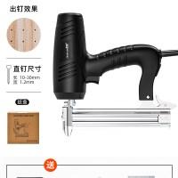 전기타카총 세트 전동 타정총 못박는기계 충전타카 네일건 스테이플건, AA (TOP 2108578079)