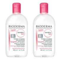 Bioderma H20 Cleansing Water 비오더마 센시비오 클렌징워터 500ml 2개 (TOP 4500554393)