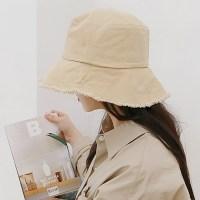 이코마켓 국산 남녀공용 코튼 올풀림 빈티지 버킷햇 벙거지 모자 캠핑모자 (TOP 2341379662)