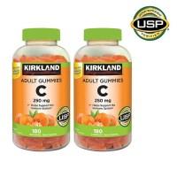 커클랜드 비타민 C 250mg 구미 180정 2팩 Kirkland Signature Vitamin C 250 mg. 180x2 Adult Gummies (TOP 2019883417)