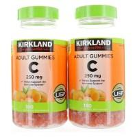 Kirkland Signature Vitamin C 250mg. 360 Adult Gummies 커클랜드 비타민 250 mg gummies, 1개, 1개 (TOP 1787435541)
