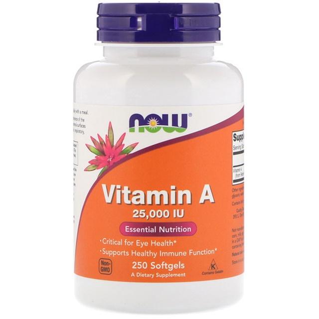 나우푸드 비타민A 25 000IU 250 소프트젤