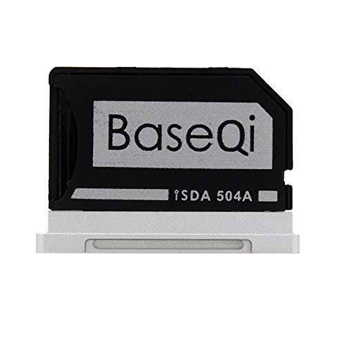 BaseQi BASEQI FBA_iSDA504ASV aluminum microSD Adapter works with MacBo, 상세내용참조