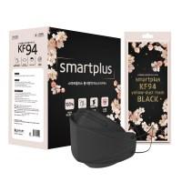 스마트플러스 KF94 블랙 벚꽃에디션 마스크 개별포장 대형 50매입 성인용, 1개, 50개입 (TOP 4934458541)