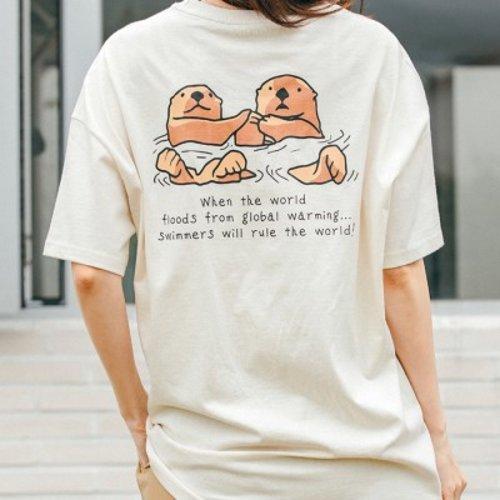 [텐바이텐] [Organic cotton] Sea Otter