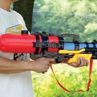 라라기프트 69cm대형람보물총 워터건 물총축제 2.6리터 대형물총 (TOP 254150374)