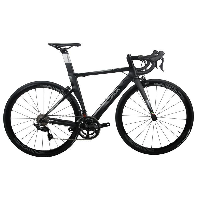 로드자전거 JAVA 도로 자전거 22 속도 도로 자전거 디스크 브레이크 도로 경주 C, NONE, 3. 색상 분류: 블랙 파이어 3C 브레이크