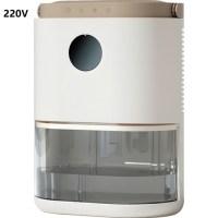 220V 2L 미니 전기 제습기 Dedroom 욕실 용 가정용 휴대용 제습기 공기 건조기, 미국 플러그 (TOP 5621367419)