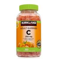 커클랜드 성인 비타민C 250mg 180정 (구미) Kirkland Adult Gummies Vitamin C (180 Gummies), 1개 (TOP 243560491)