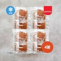 삼립 냉동 소프트핫도그번빵 300g 4봉 50g 24개입, 300g x 4봉 (TOP 5381642532)