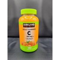 NEW CASE 커클랜드 비타민C 250mg 180정 x 2병 구미 젤리 천연과일맛 / Kirkland Signature Vitamin C for Adult, 2병 500mg 360정 (TOP 5061036505)