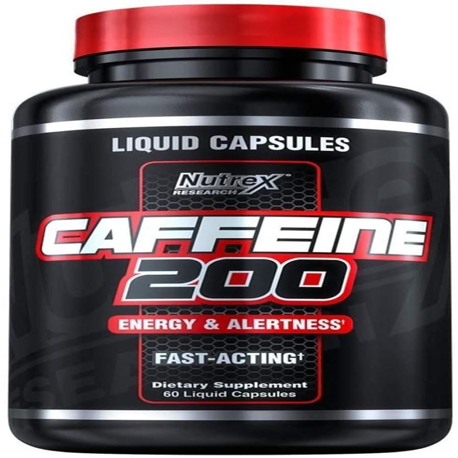Nutrex 카페인 알약 200 mg 60 정, 단품, 단품