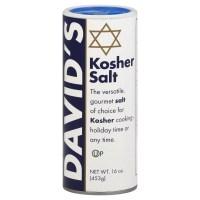 David's Kosher Salt Canister 16.0 Oz(Pack of 2) 데이비드 코셔 소금통 453.6g (2 팩), 1 (TOP 5224604923)