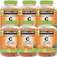 커클랜드 비타민C 250mg 180구미 6팩, 1개, 기본 (TOP 5309654270)
