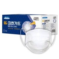 유한킴벌리 크린가드 청정마스크(K) / 50매(1카톤) / 화이트 (TOP 5637382940)