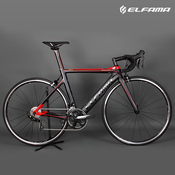 로드자전거 2020년 엘파마 퀀텀 A7100 카본 105 22단, 500 무광실버/블랙