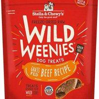 스텔라 츄이즈 동결건조 와일드 위니 도그트릿 Stella Chewys Freeze Dried Raw Weenies Dog Treats, 3.25-Ounce (TOP 4577327766)