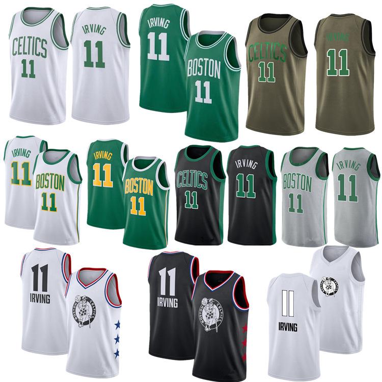 NBA 보스턴 셀틱스 11번 카이리 어빙 농구 유니폼
