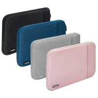 아카빌라 삼성 갤럭시북 프로 360 이온2 플렉스2 LG그램 충격방지 EVA 소프트쉘 극세사 파우치, 그레이 (TOP 4744524765)