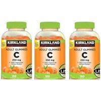 커클랜드 서명 jeoYWa 비타민 C 250 mg. 180 Adult Gummies (3 팩), 1 (TOP 1261234314)