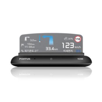 폰터스hud - 현대폰터스 HUD 헤드업 디스플레이 내비게이션 V200