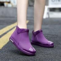 미끄럼 방지 커플 장화 방수 신발 주방 고무 장화 낚시 커플 신발 갯바위 발목 장화 레인부츠 (TOP 2269288781)