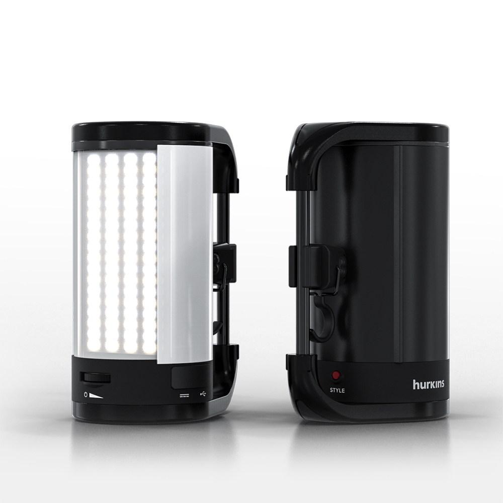 허킨스 스타알파 Ver2.0 LED 캠핑랜턴 HSTL-100A 랜턴, 10050mAh - 세라믹 화이트