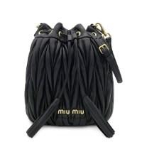 미우미우 Matelasse Bucket Bag 5BE014 N88 F0002 (TOP 5210013285)