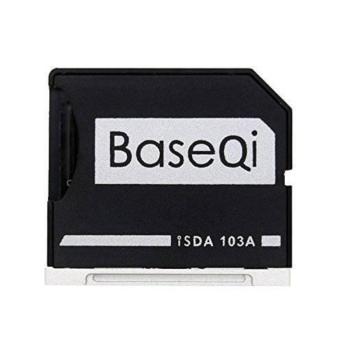 BaseQi 알루미늄 마이크로SD 어댑터 맥북 에어 13 and 맥북 프로 13 15 Non-, 상세내용참조