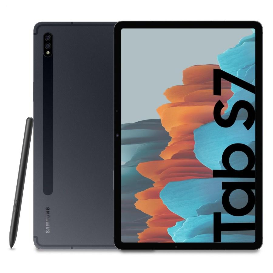 갤럭시 탭 S7 WIFI 태블릿 SM-T870, 128GB+미스틱 블랙