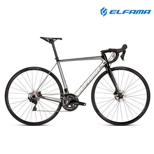 GIFT 로드자전거 2021년 엘파마 레이다 디스크 R7000D 105 22단, 매트블랙실버 470