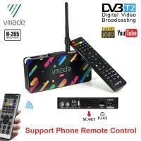 2020 DVB T2 지상파 디지털 TV 수신기 H.265/HEVC HD TV 디코더 10 비트 이탈리아 스페인 지원 Meecast App Youtube TV 튜너 위성 TV, 1개, Only TV BOX (TOP 4922899143)
