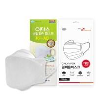 여름용 숨쉬기 편한 어다스 KF-AD 3D 마스크 대형 100매 (TOP 5342238749)