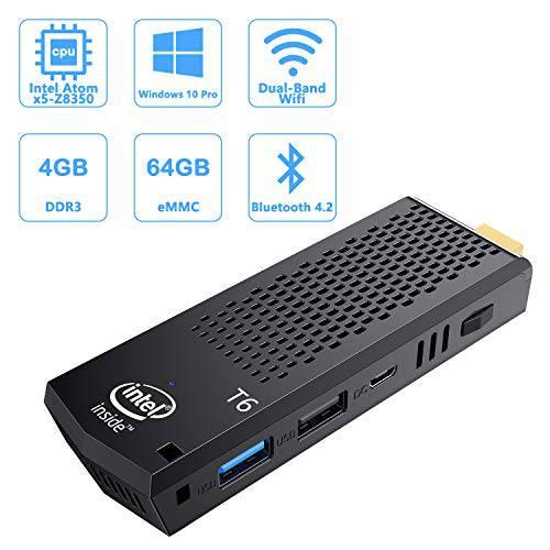 미니 컴퓨터 Stick with Intel Atom X5-Z8350 4GB DDR3 64GB eMMC 팬리스 M, 상세내용참조