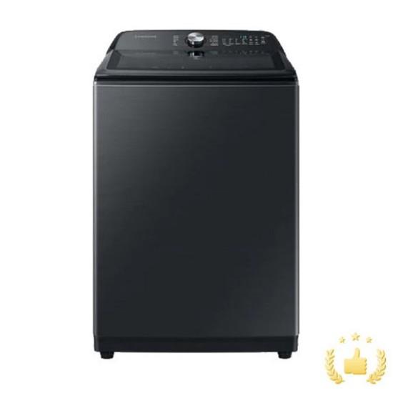삼성 일반세탁기 WA21A8376KV [21KG/블랙케비어], 없음