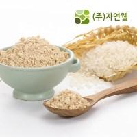 자연웰 100% 국산 볶음 현미가루 250g 선식 곡물가루 천연가루, 볶음현미가루 250g (TOP 57078532)