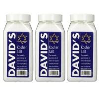 David's Kosher Salt 데이비드 코셔 소금 2.5파운드 3개 (TOP 5613714537)