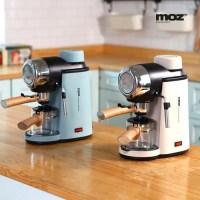 모즈 에스프레소 커피머신 DR-800C 가정용 커피메이커 홈카페 커피포트, 블루이쉬그린 (TOP 4793198352)