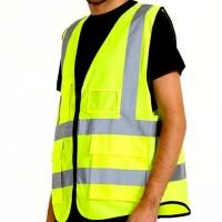 야간 야광 반사 안전 조끼 메쉬 통기성 형광 신호수 안전쪼기 안전복 (TOP 300224155)