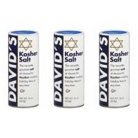 David's Kosher Salt 데이비드 코셔 솔트 16.0Oz(453g) 3팩 (TOP 4343769005)