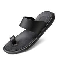 2021 토앤토 쪼리 플립플랍 여름 남성 남자 플랫 샌들 신발 패션 슬리퍼 YEINSHAARS 정품 가죽 패션 여름 비치 신발 (TOP 5844909272)