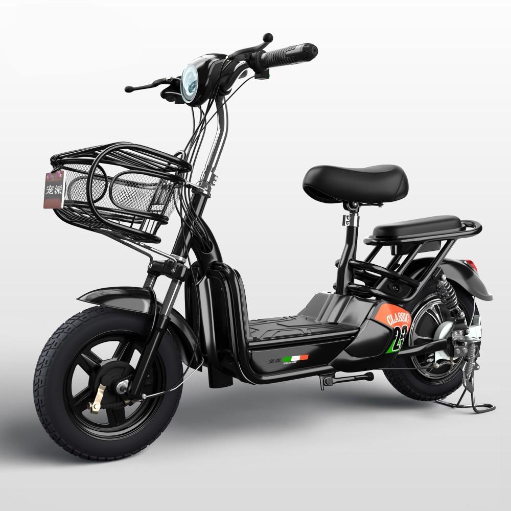 전동 킥보드 전기 자전거 스쿠터 Yadi 오토바이, 60km/12A (Yaku Black)