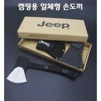 {(다이찌몰) 캠핑용 일체형 손도끼 낚시용품}, 1개 (TOP 4535378280)