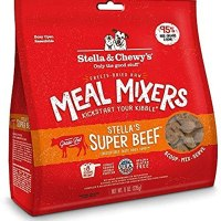 Stella & Chewy's Freeze-Dried Raw Stella's Super Beef Meal Mixers Grain-Free Dog Food Topper, 1개 (TOP 5344577184)