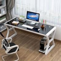 게이밍책상 데스크탑책상 학생책상 사무실Desk 테이블, 흰색+검정 1000 (TOP 1651595941)