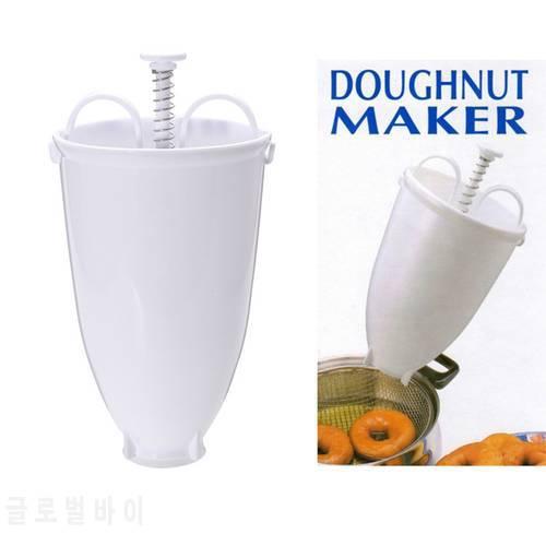 실용적인 플라스틱 도넛 도넛 메이커 머신 몰드 DIY 도구 주방 과자 만들기